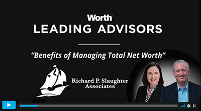 Benefits of Managing Total Net Worth