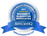 Slaughter Associates Top Rated Wealth Management Firm 2017