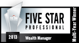 Five Star Professional Wealth Manager 2013